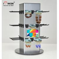 China Counter Top Accessories Display Stand Metal 4 - Way Hanging Jewelry Display Fixtures on sale