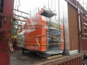 China Industrial Waste Plastic Film Shredder , Jumbo Plastic Bag Shredder  / Crusher on sale