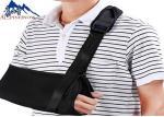 China Black Arm Sling Shoulder Support Brace Immobilizer Adjustable Extra Support Comfortable wholesale