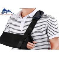 China Black Arm Sling Shoulder Support Brace Immobilizer Adjustable Extra Support Comfortable on sale