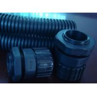 China Flame Retardent Corrugated Flexible Tubing For Machinery / Electrical Equipment on sale
