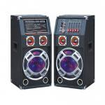 Karaoke 100 Watt Portable Bluetooth PA Speakers With Equalizer And Mic Input