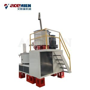 China Plastic Raw Material Powder PVC High Speed Mixer , Plastic Mixer Machine on sale