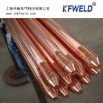 Copper Clad Steel Grounding Rod, diameter 14.2mm, 5/8. length 1500mm, with UL list