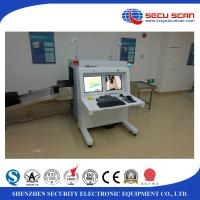 Hotel AT6550B X Ray baggage scanner machine , luggage security scanning equipment
