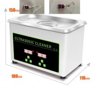 China 800ml Stainless Steel Ultrasonic Jewelry Cleaner Eyeglasses Watch CD Record Disks Washing on sale
