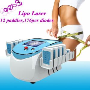 China 176 diodes Smart Lipolaser Fat Dissolving System / Cellulite Removal Medical Device on sale