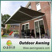 L98 water channel retractable awning