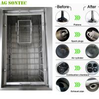 Self Service Car Wash Equipoment Ultrasonic Washer Machine Used In Mechanical Workshop