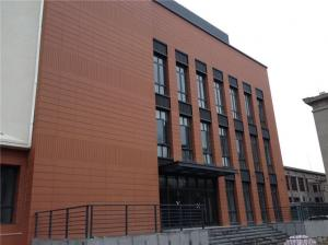 Quality Terracotta Rainscreen Facade Systems / External Cladding SystemsComposite Panel for sale