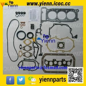 China Mitsubishi 3KR1 3KR2 engine full gasket kit 5-87810777-5 with Head gasket 8-94375198-0 for SUMITOMO S80FExcavators on sale