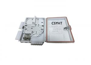 China PP ABS 12C Outdoor applicaiton Fiber optic terminal box with 1x8 PLC splitter on sale
