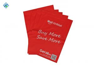 China Small MOQ Custom Printing Red Poly Mailers Poly Bags Poly Mailer Bags for Clothing on sale