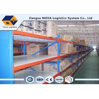 Hot Rolled Steel Stable Longspan Shelving 1000 Kgs Per Layer Loading Capacity