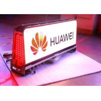 China 12VDC ETL advertising taxi led screen / led taxi display Super Clear Vision on sale