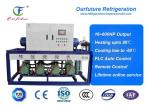 Bitzer Reciprocating Parallel Compressor Racks For Seed Freezer 10HP*4 R404a