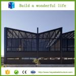 Less energy consumption pre engineered steel buildings hurricane proof