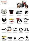 ABS Plastic Material Motorcycle Spare Parts Honda CB190R Corrosion Resistant