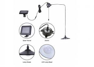 China Hanging Bulb Solar Camping Lights / Solar Powered Decorative Lights With Remote Control on sale