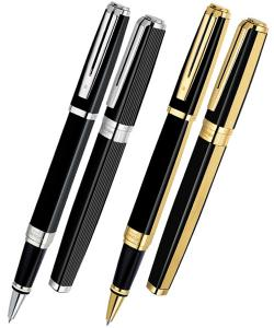 China Black, blue refill color custom Promotional Metal Pens / roller or fountain pen LY90 on sale