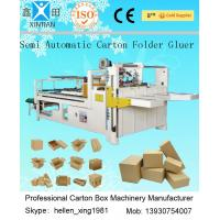 China High Power 4kw Carton Folding Machine , Semi-Automatic Carton Sealing Machine on sale