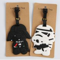 New product ideas 2018 travel accessories plastic pvc luggage tag for business gift