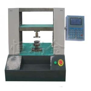 China 10KN LCD pellet compression testing machine on sale