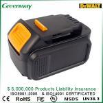 Bateria recarregável 3000mAh da ferramenta elétrica para o Li-íon 14.4V de Dewalt XR, DCB140, DCB140-XJ