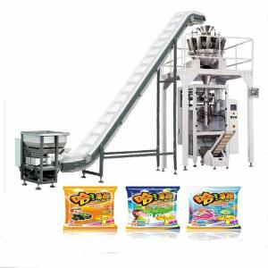 China VFFS packaging machine Candied fruites machine packing on sale