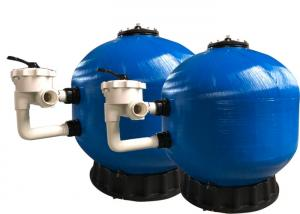 China Fiberglass Pool Side Mount Filter , Swimming Pool Filter System High Durability on sale
