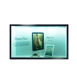 China Compatible Transparent Touch Display , Transparent Lcd Display Interface HDMI VGA DVI on sale