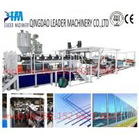 with UV coating polycarbonate pc solid/embossed acrylic sheet processing machinery