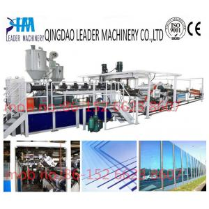China with UV coating polycarbonate pc solid/embossed acrylic sheet processing machinery on sale