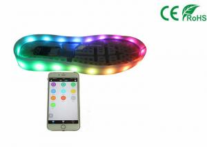 China Rechargeable Led Flashing Shoe Light Waterproof Button Switch To Control on sale