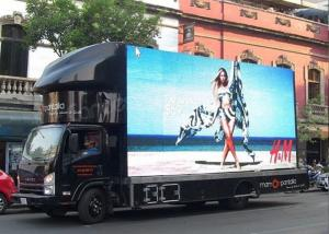 Shock Proof Outdoor Mobile LED Screen P5 5500 Nits Full