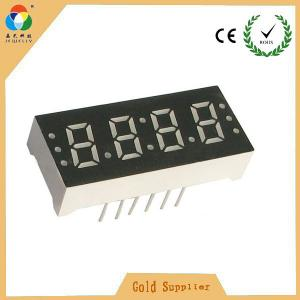 China Super red 4 digits led 7 segment numeric display for led clock with CC & CA on sale