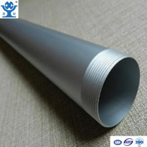 China Customized best quality low price aluminum pipe threaded on sale