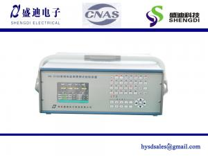 China Portable Single phase smart energy meter test Equipment (HS-3103) 5mA~120A current,Frequency 45~65Hz RS485/RS232 Port on sale