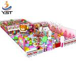 Multifunctional Indoor Soft Play Equipment Aluminum Casting Shape No Pollution