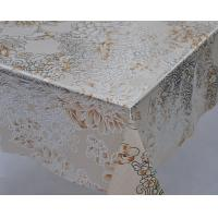 Golden and Silver Inlaid PVC Table Cloth