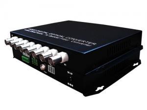 China 8-channel Digital Video Optical Converter, video optical multiplexer+data, PAL/NTSC/SECAM on sale