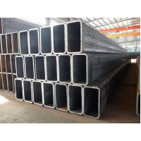 China 20MN2 SS41 SS400 HR Rectangular Welded Carbon Steel Pipe / ERW Black Steel Oil Pipe on sale