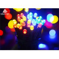 China 12M Multi Colored Outdoor String Lights Round Bulbs , Decorative Hanging Lights  on sale