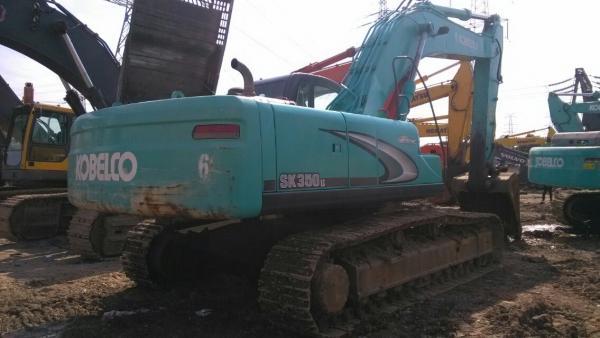 Used KOBELCO SK350LC-8 Excavator made in japan Used KOBELCO
