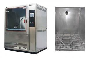Quality 1000L Volume Dust Test Chamber AC380V 50 / 60Hz With Centrifugal Fan Blower for sale