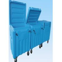 High Capacity 310 L Dry Ice Cooler Box ABS Material Wear Resistance