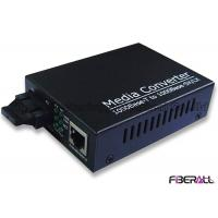 1000M Optical Fiber Media Converter With External Power Adapter SM Dual Fiber SC 10KM