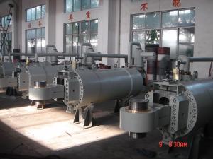 China Diameter 12m Hydraulic Servomotor For Water Wheel , Piston Hydraulic Cylinder on sale