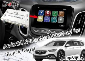 China Buick Car Video Interface Online - Map WIFI Network With Real - Time Traffic Information on sale