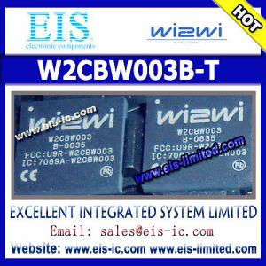 China W2CBW003B-T - WI2WI - BGA - 802.11 b/g BluetoothTM System-in-Package - sales007@eis-ic.com on sale